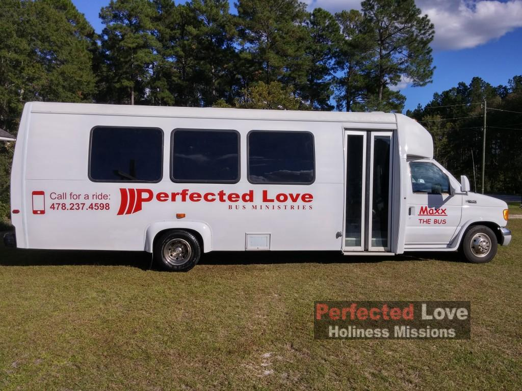 Maxx the Bus at Perfected Love