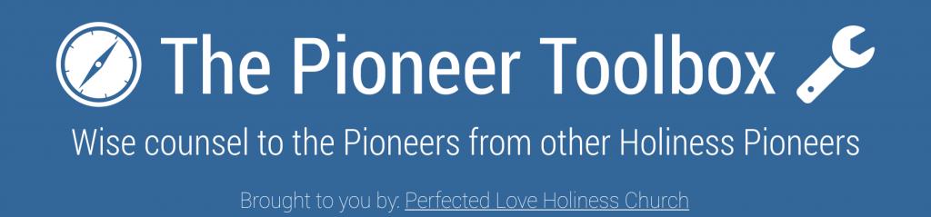 The Pioneer Toolbox