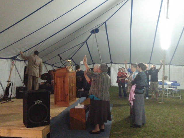 Tent Revival with Perfected Love