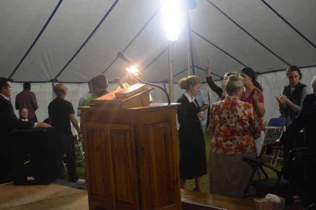 Youth Tent Revival - FGBI 2015