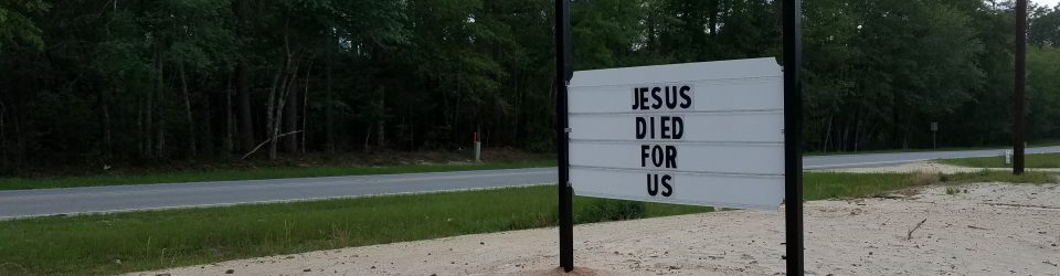 Jesus Died for Us - Easter 2017