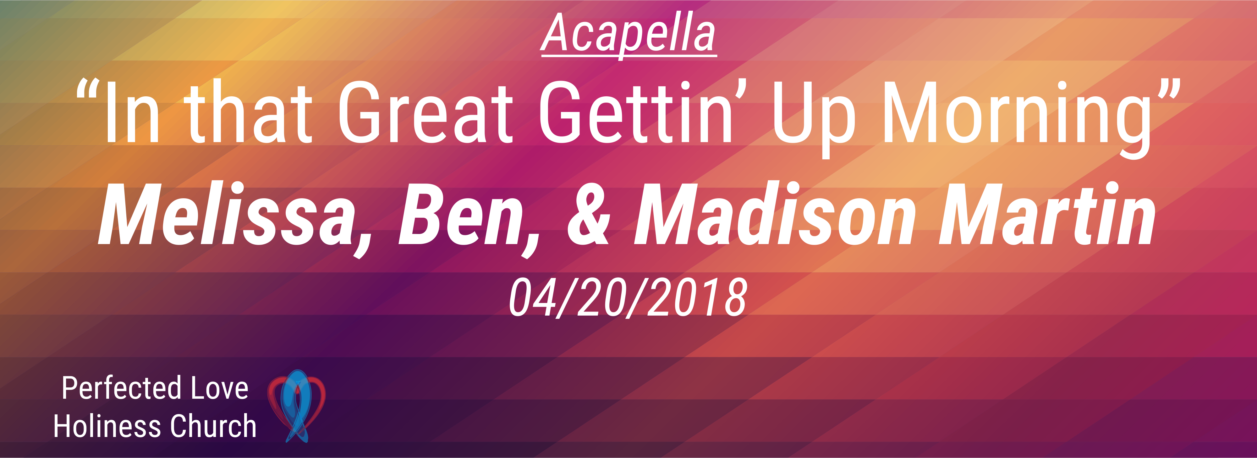 In that great gettin up morning - Song 04-20-18